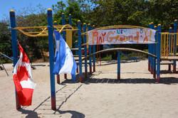 Finished Ste Helene playground