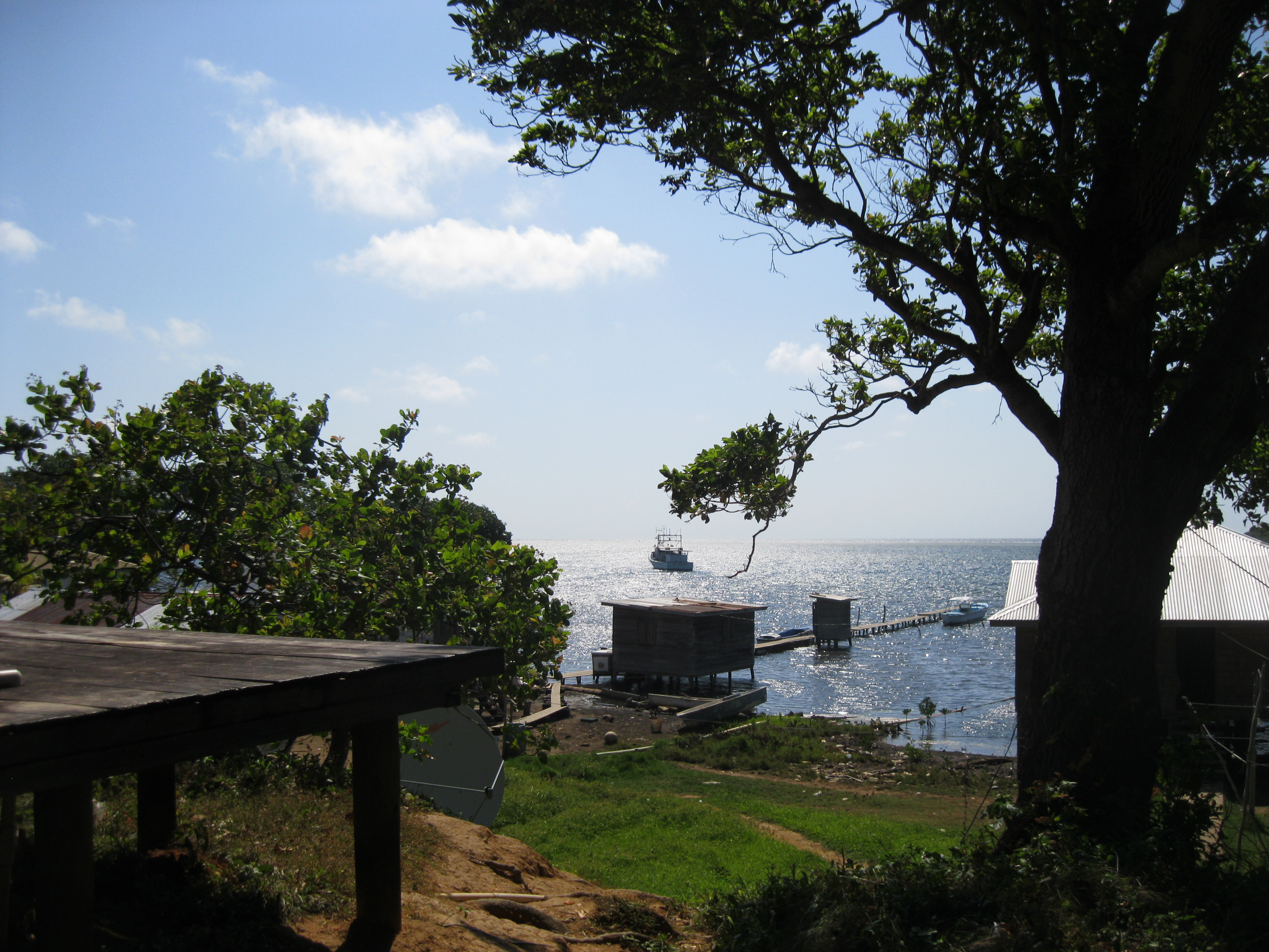 view of secondary dock