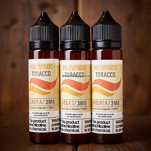 Жидкость Firewinds Tobacco - Alabama 60 мл USA