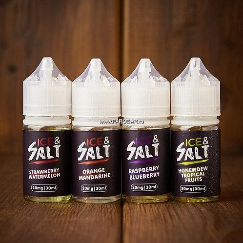 Жидкость Ice Salt - Клубника и Арбуз 30 мл