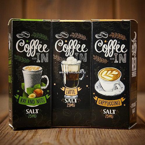 Жидкость Coffee-In Salt - Chocolate 30 мл