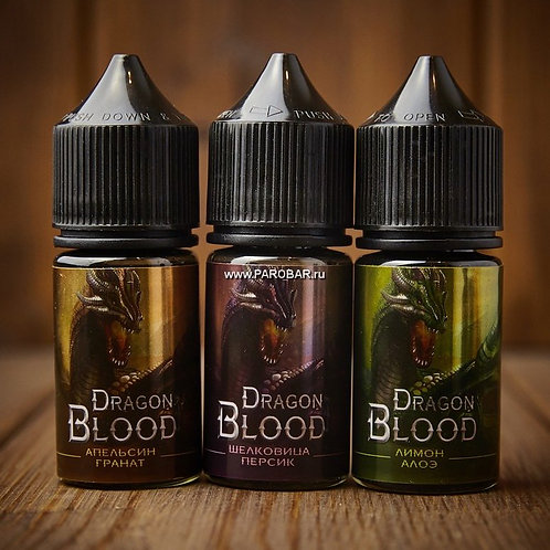 Жидкость Dragon Blood salt - Малина и Арбуз 30 мл