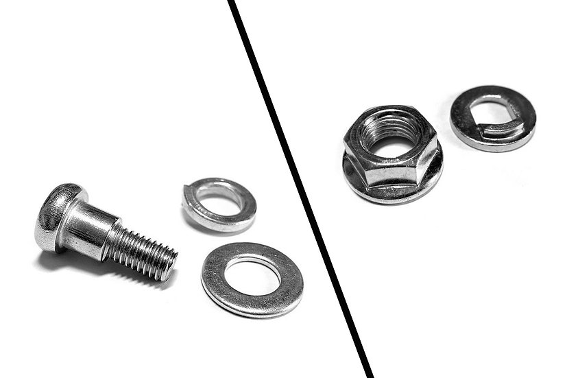 Wheel screw & nut