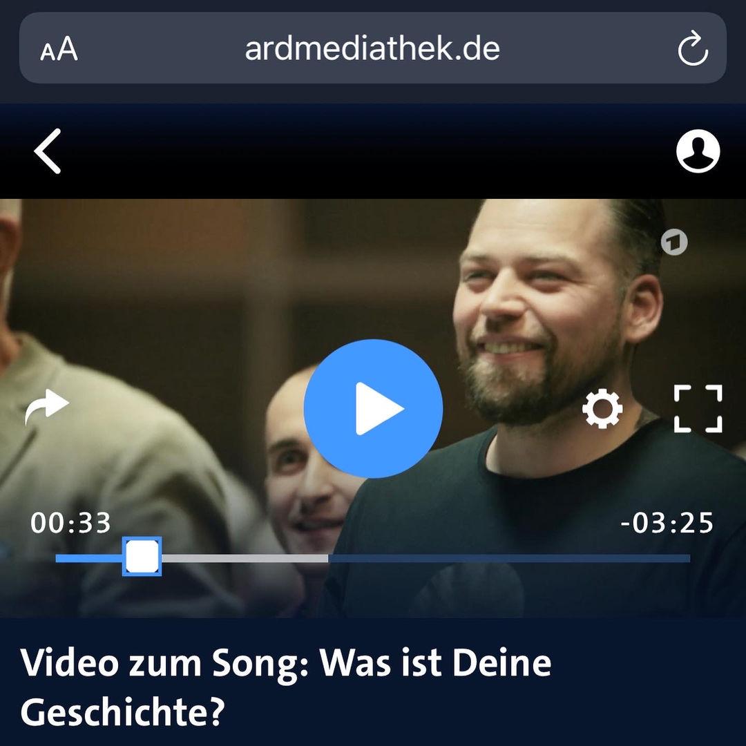 ARD Weihnachtskampagne Florian Riffel Der Tätowierer