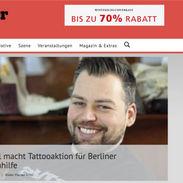 Tätowiermagazin Obdachlosenhilfe Berlin Florian Riffel Der Tätowierer