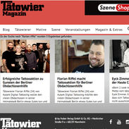 Tätowiermagazin Florian Riffel Der Tätowierer