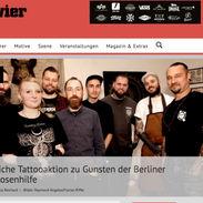 Tätowiermagazin Charity Berlin Florian Riffel Der Tätowierer