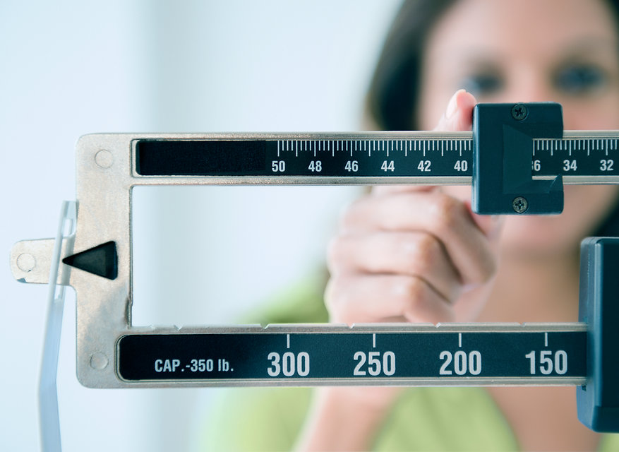 Scale losing weight