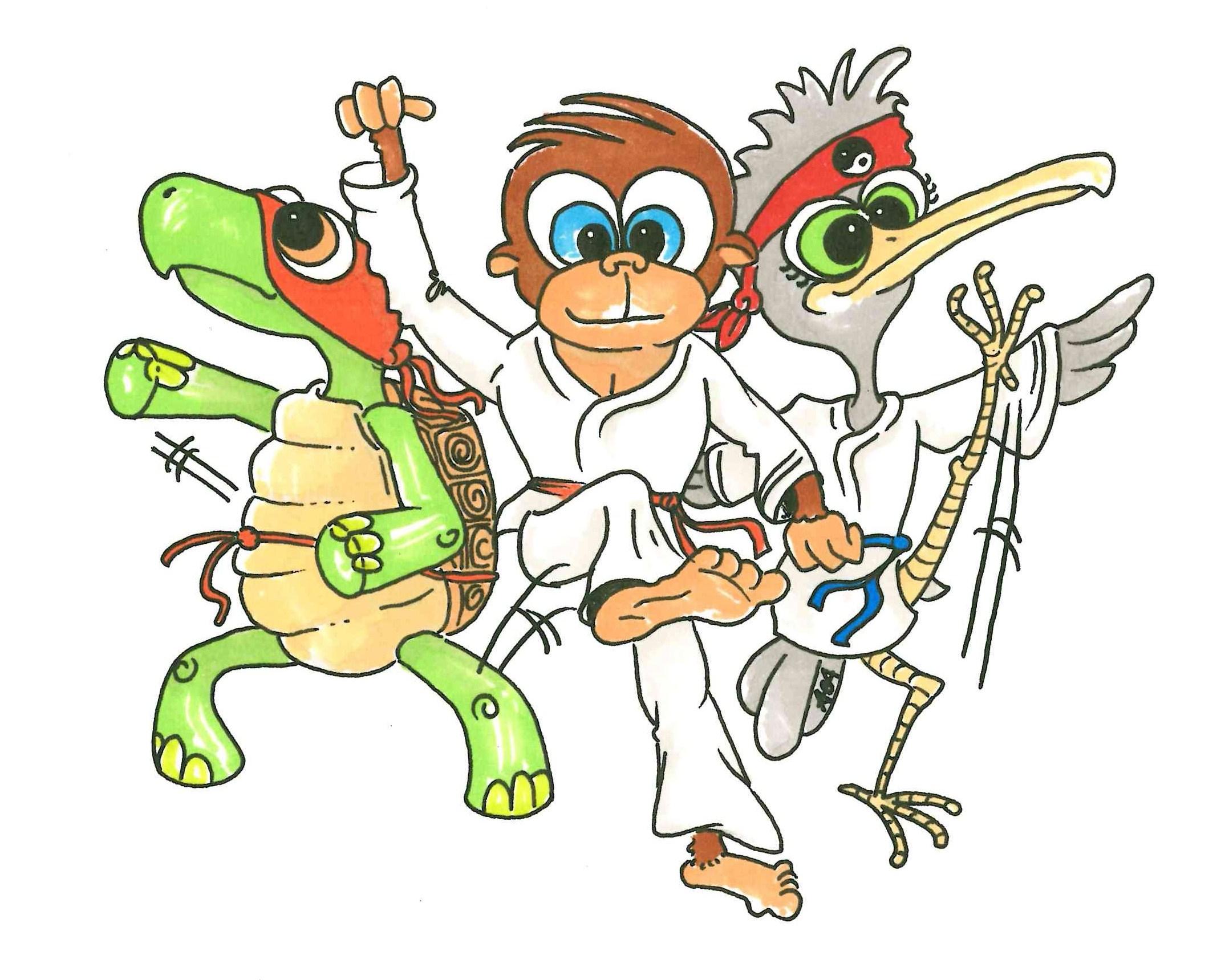 Taekwondo Kids Trio