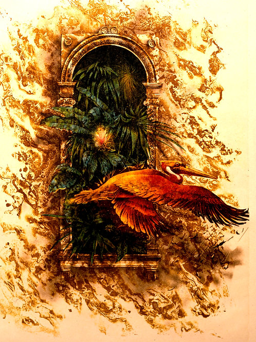 Golden Gate  -Originallithografie-