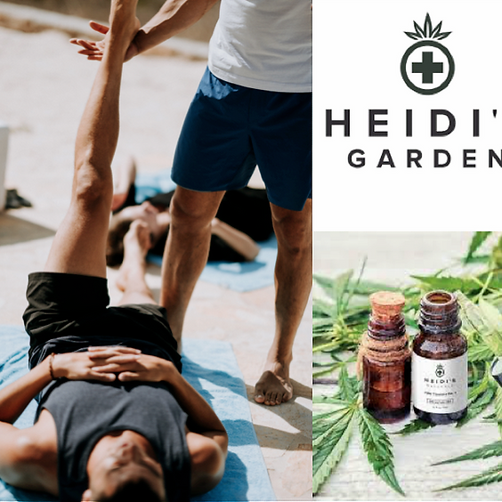 CBD + Yoga for Recovery and Wellbeing