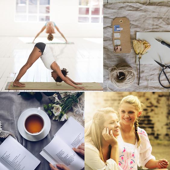 Yoga. Journaling. Togetherness.