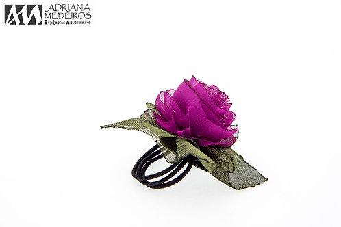 30536 Anel Flor elástico, Fucsia