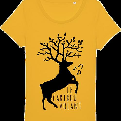 Tee-shirt caribou volant