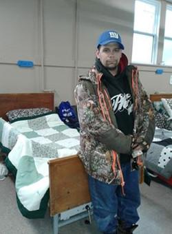 0519client Matt Schaul and new bed