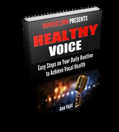 Healthy Voice free e-book by Dan Vasc