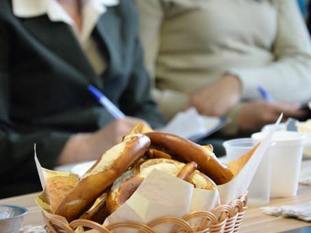 4º Café com Pretzel da Comunicação Interna