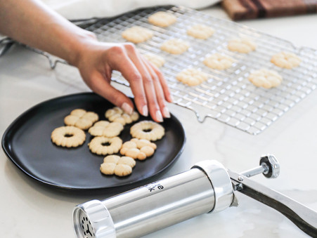 The Easiest Cookie Press Recipe