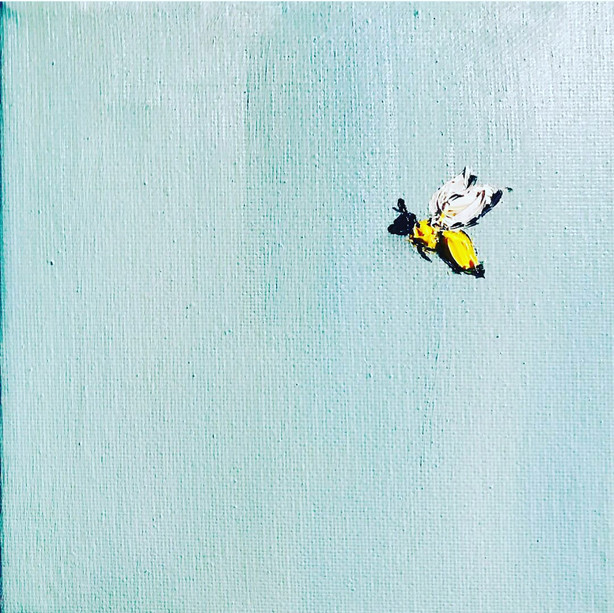 Super bee simple painting