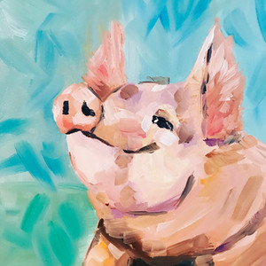 Smily pig