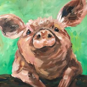 Piglet art