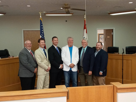 Inauguration Night for Florence Board Members