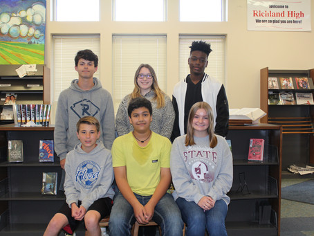 RHS Students of the Month of February
