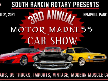 """SRRC hosts """"Motor Madness Car Show"""" in August"""