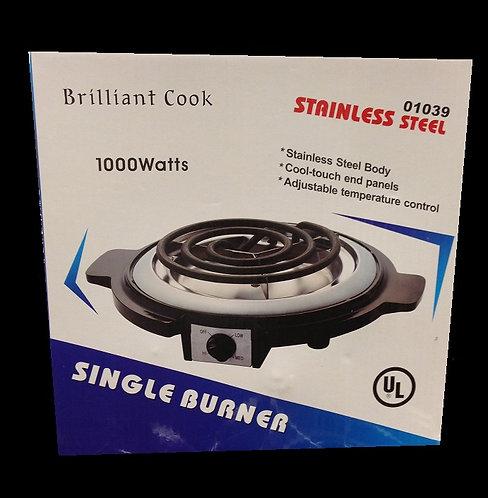Stainless Steel Electric 1000 watts Burner