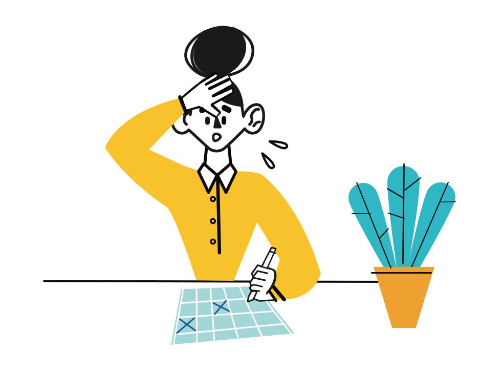 Manuaalinen työvuorosuunnittelu ei aina ole helppoa