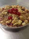 Crumble fruits rouges.JPG
