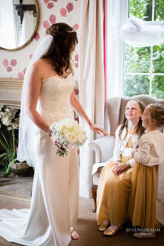 Bride and bridesmaids Haylesbury