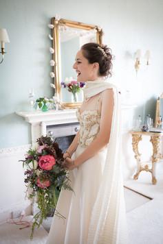 Bridal suite at Powderham