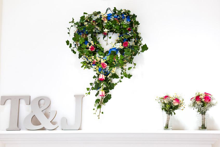 Devon wedding decoration