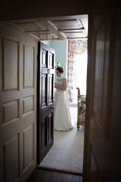 Powderham Castle bridal suite