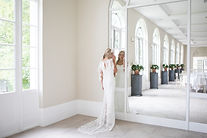Beautiful bride in the celebration room