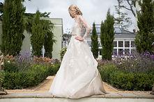 Sarah Treble Couture dress at Deer Park