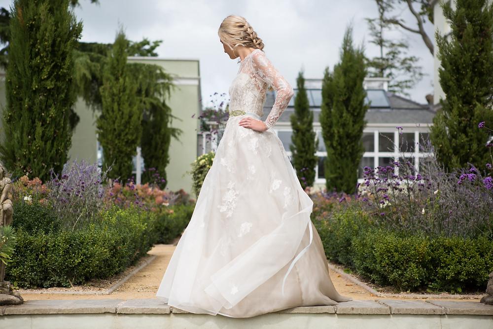 Sarah Treble Couture wedding dress