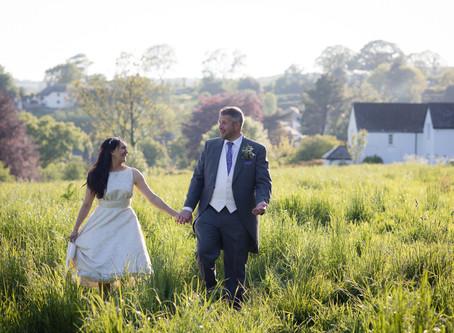 Devon wedding photographer: All Saints wedding on Royal Wedding Day!