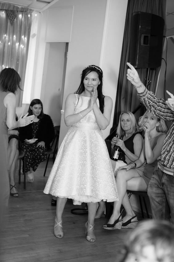 Couple's wedding speech