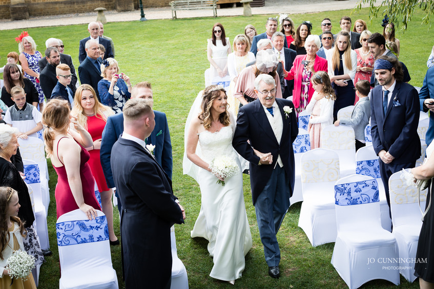 Haselbury Mill outdoor ceremony