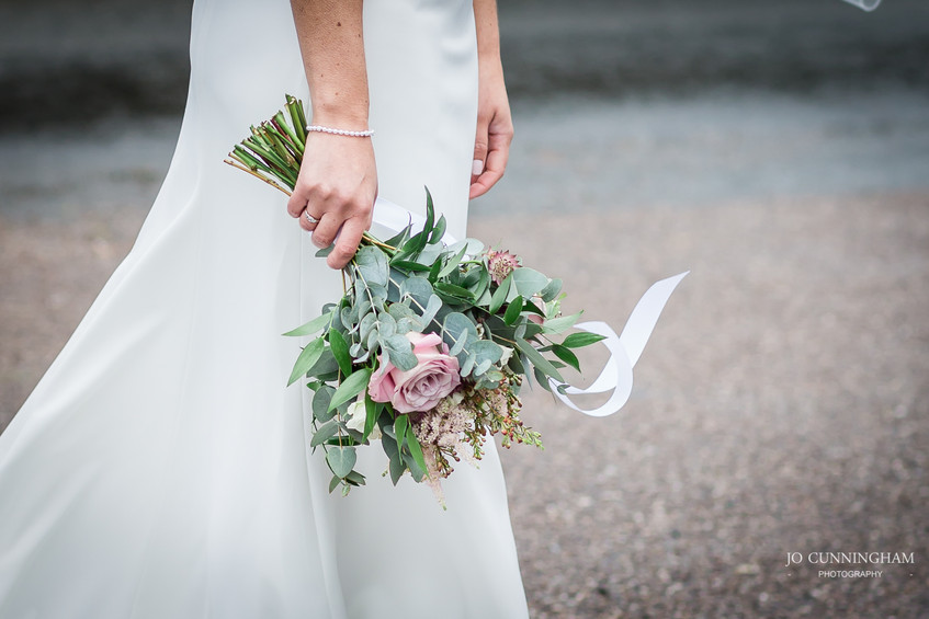 Bridal bouquet by Bud to Bloom