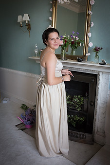 Powderham castle bridesmaid