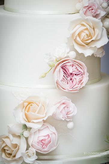 Deer Park Wedding Cake