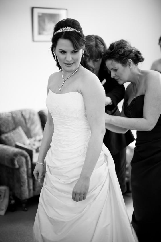 St Audries bride