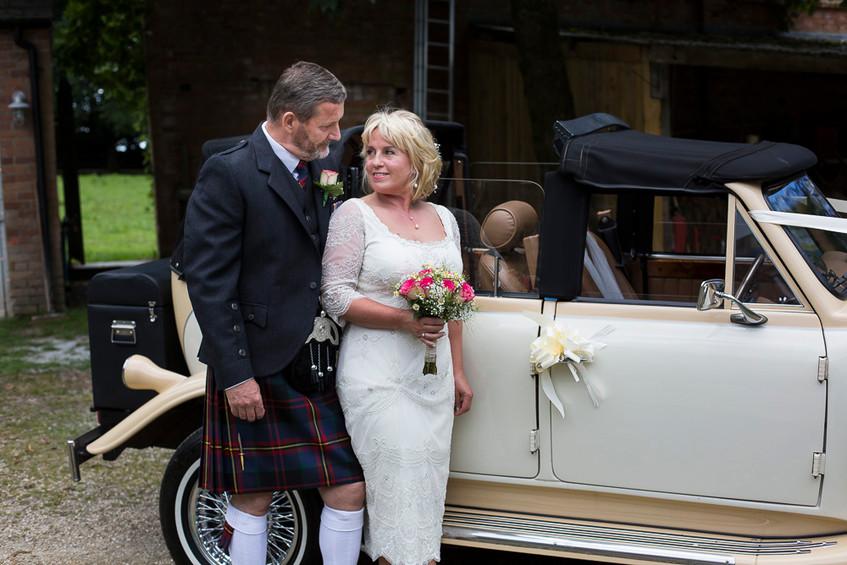 Devon wedding car
