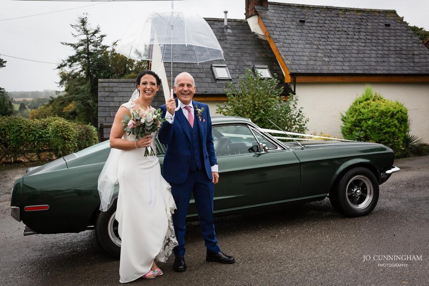 What a wedding car!