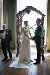 Powderham Castle wedding ceremony