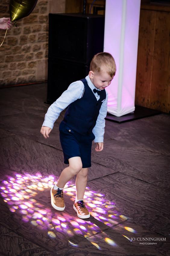 Haselbury disco lights