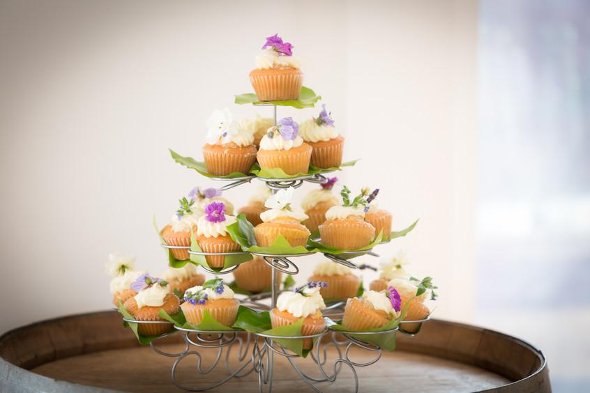 Cupcake wedding cake Devon